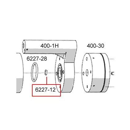 6227-12  Pneumatické lisovací nástroje Pico - náhradní díly
