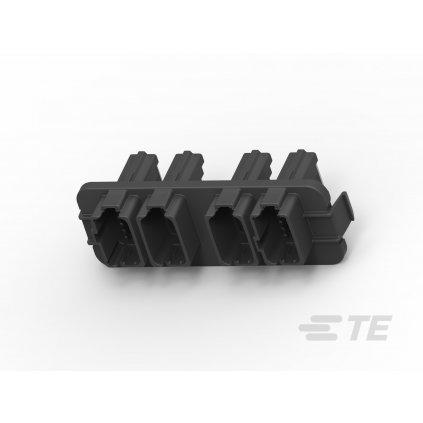 DT13-24PAB-R015  Krabičky a víčka s konektory pro profesionální elektronické jednotky