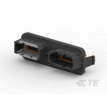 DTM13-12PA-12PB-GR01  Krabičky a víčka s konektory pro profesionální elektronické jednotky