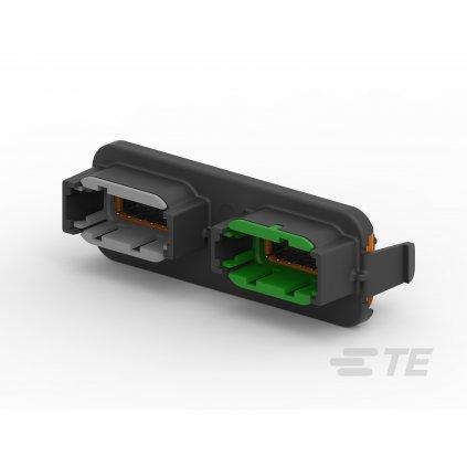 DTM13-12PA-12PC-R008  Krabičky a víčka s konektory pro profesionální elektronické jednotky