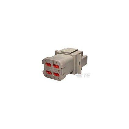 DT04-08PA-CE01  Tělo vodotěsného konektoru řady DT