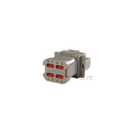 DT04-08PA-E003  Tělo vodotěsného konektoru řady DT