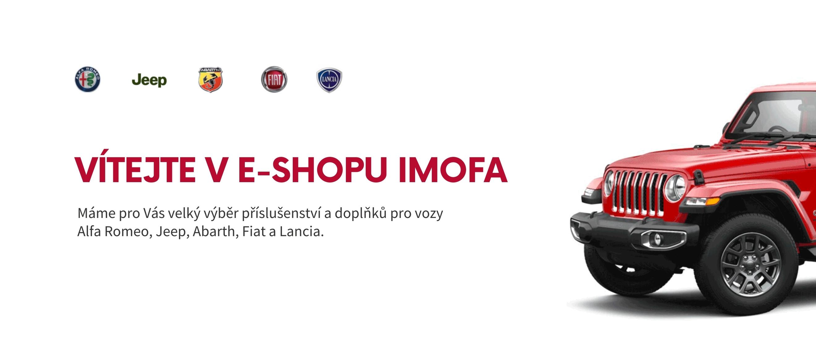 Vítejte v e-shopu IMOFA
