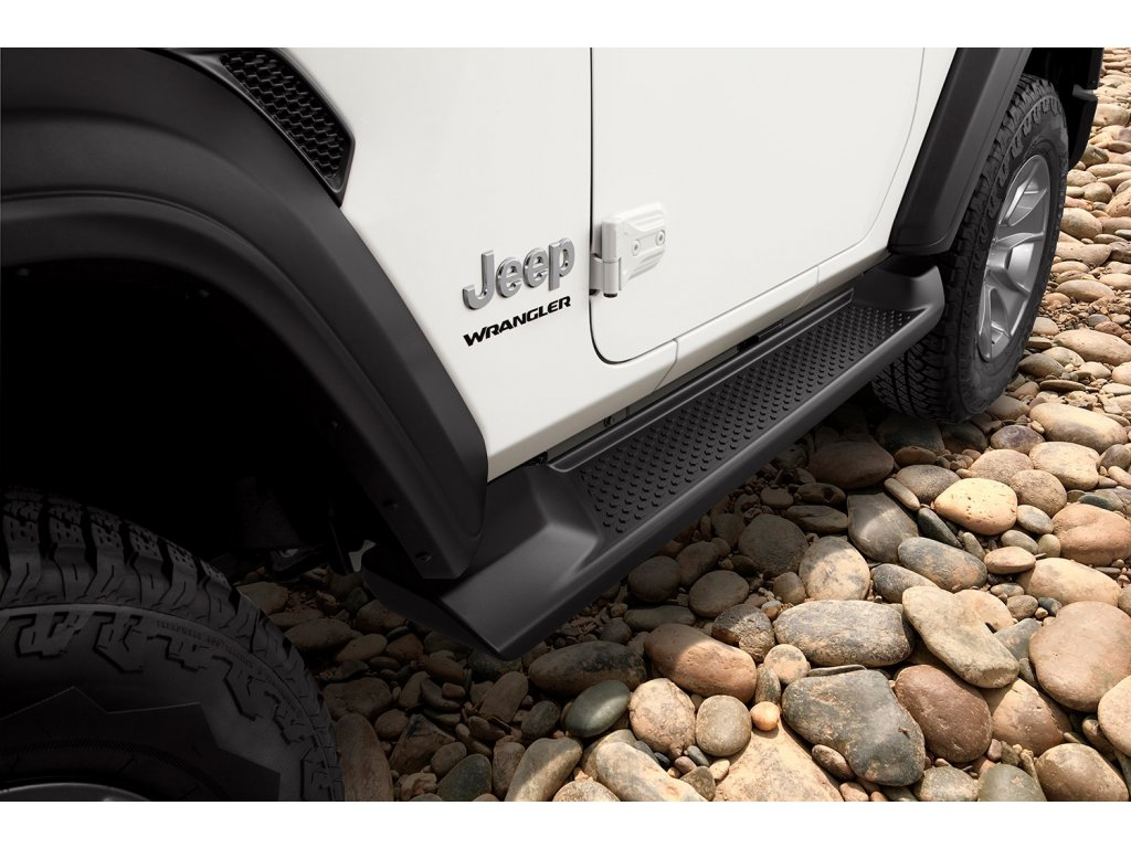10034 jeep wrangler jl naslapy black 2 door