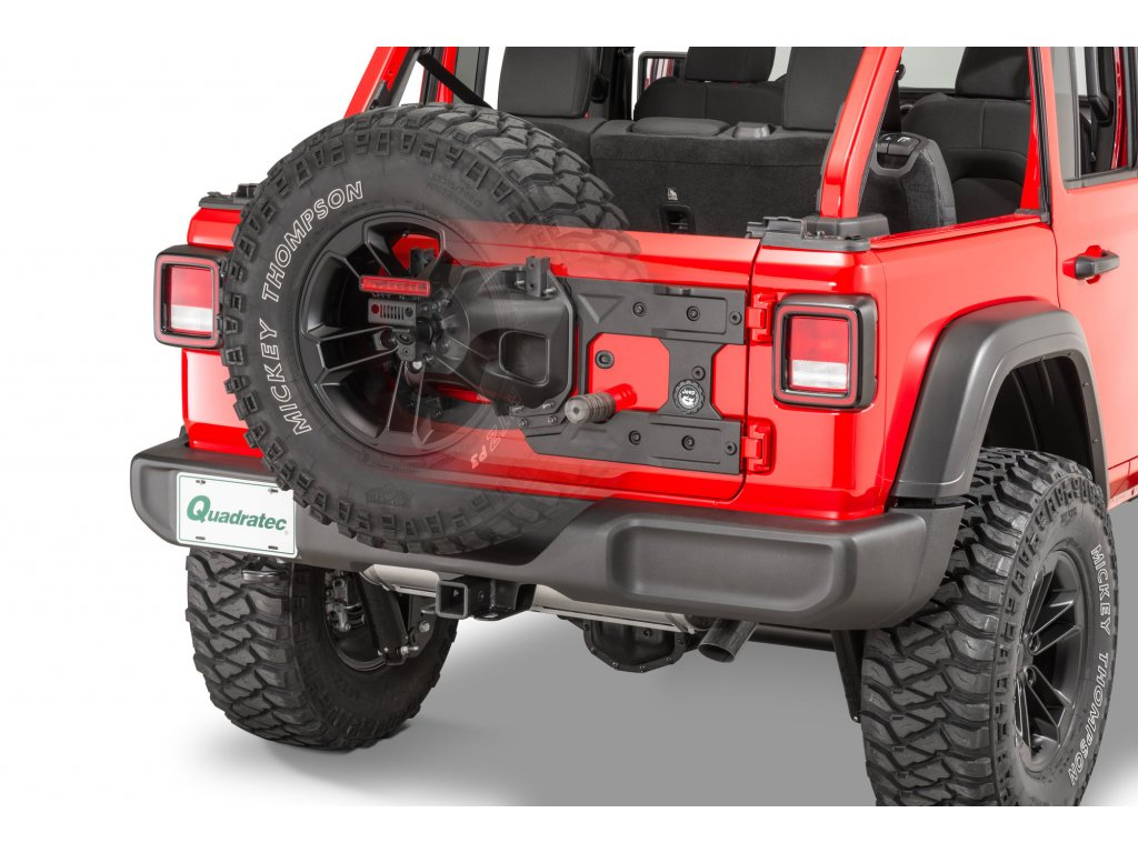mopar 82215356ab tailgate reinforcement jeep wrangler jl installed ghosted 0