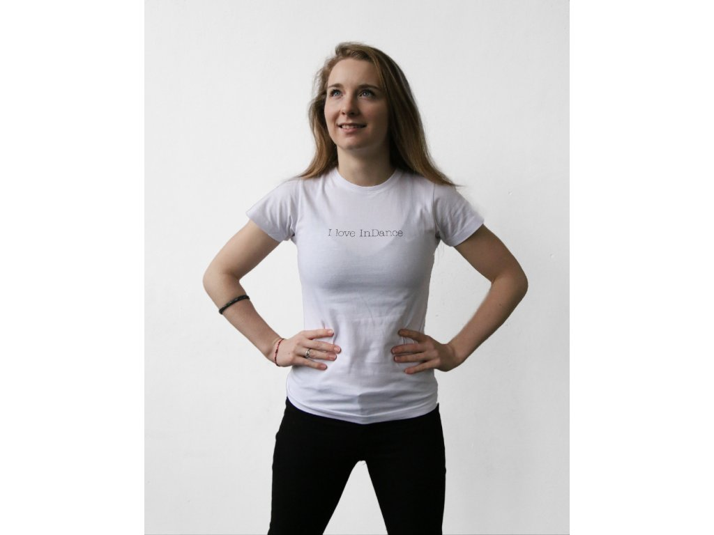 triko bílé Iloveindance