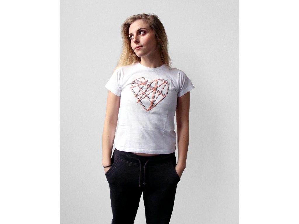 InDance triko Srdce