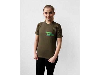 TBH triko tmavě zelené