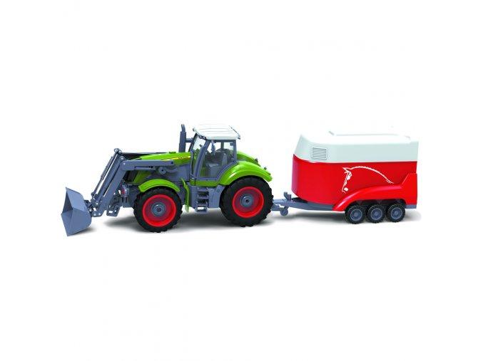 BRC 28.611 RC Traktor + př. BUDDY TOYS
