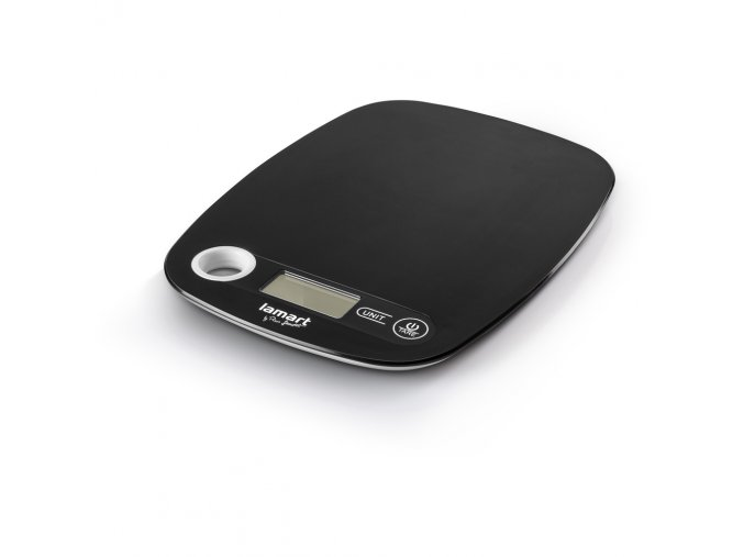 LT7022 Kuchyňská váha černá POIDS LAMART
