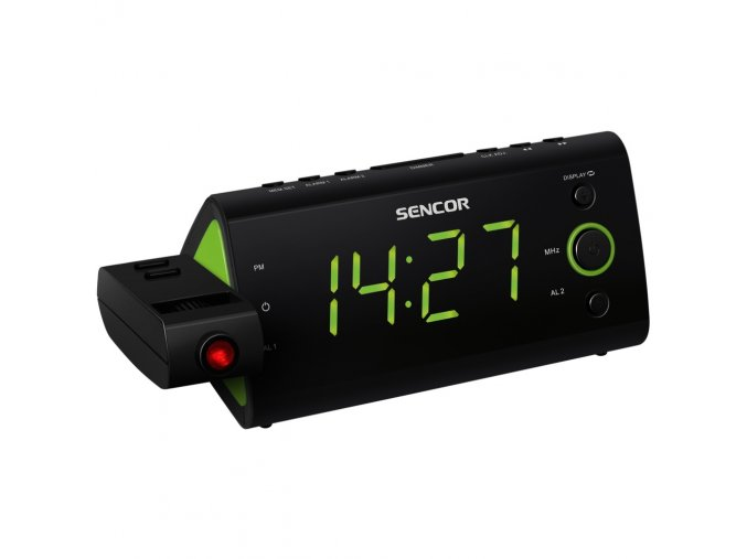 Radiobudík s projekcí času SENCOR SRC 330 GN