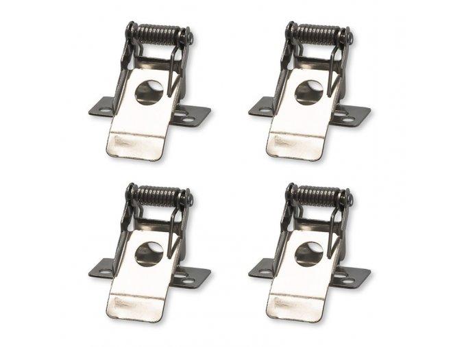 Solight montážní klipy pro instalaci LED panelů o rozměru 595x595mm do podhledů, 4ks