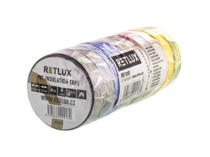 RIT 010 izo.páska 10ks 0,13x15x10 RETLUX
