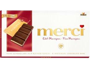 Merci čokoláda 100g (Druh vanilková)