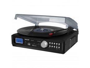 Gramofon s USB/SD/FM