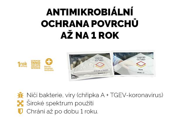 Novinka v sortimentu - Liquid Guard - antimikrobiální ochrana povrchů