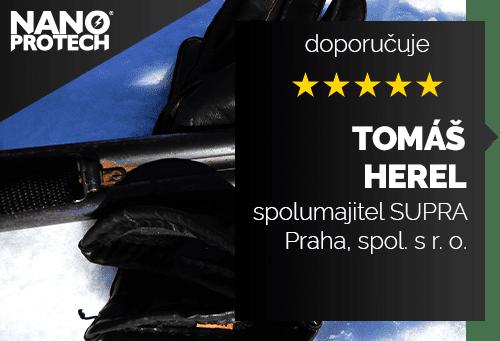 Tomáš Herel - spolumajitel SUPRA Praha, spol. s r. o.