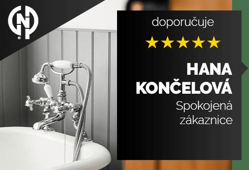 Hana Končelová - spokojená zákaznice