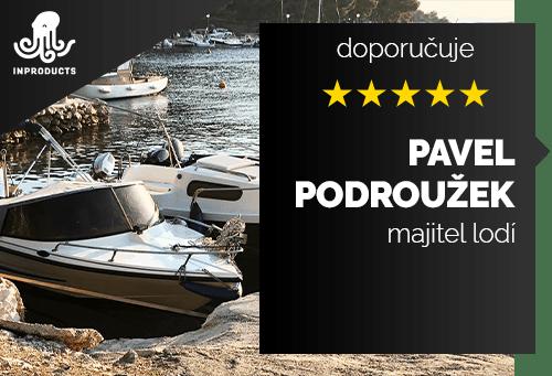Pavel Podroužek - majitel lodí