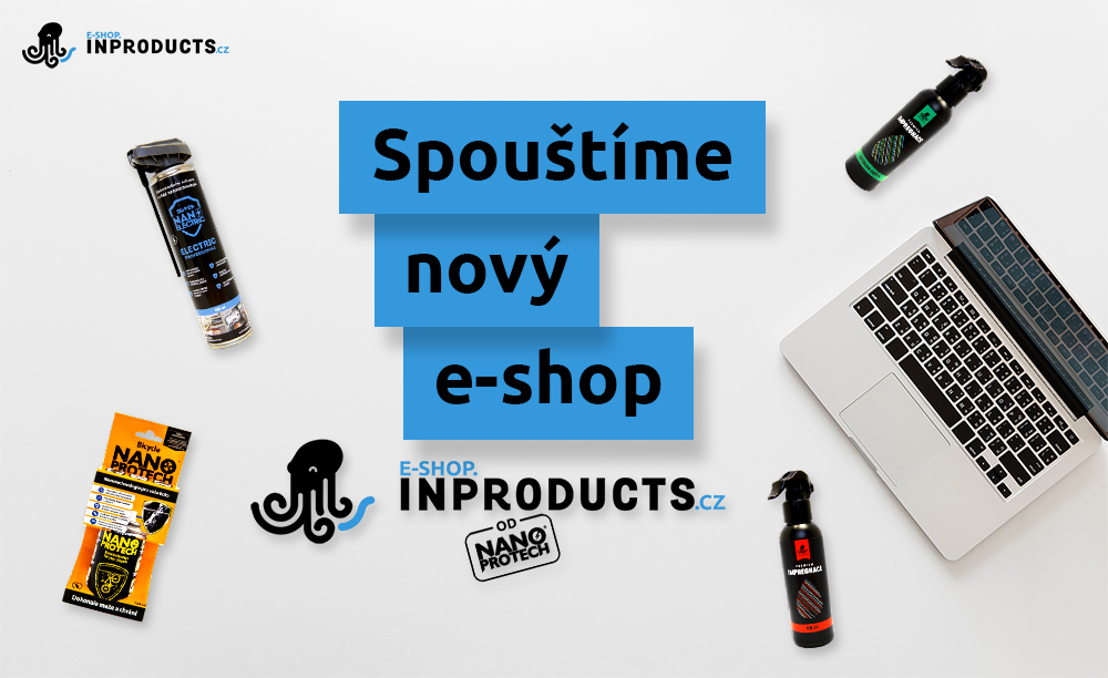 Spouštíme e-shop Inproducts.cz