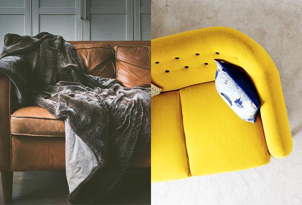Jak vyčistit textilní a kožené sedačky a ochránit je před zašpiněním