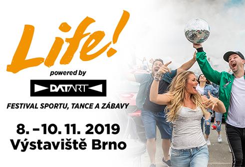 Festival LIFE 2019 Brno – budeme tam