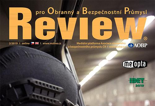 Armádní časopis Review představil naše produkty pro vojenské účely