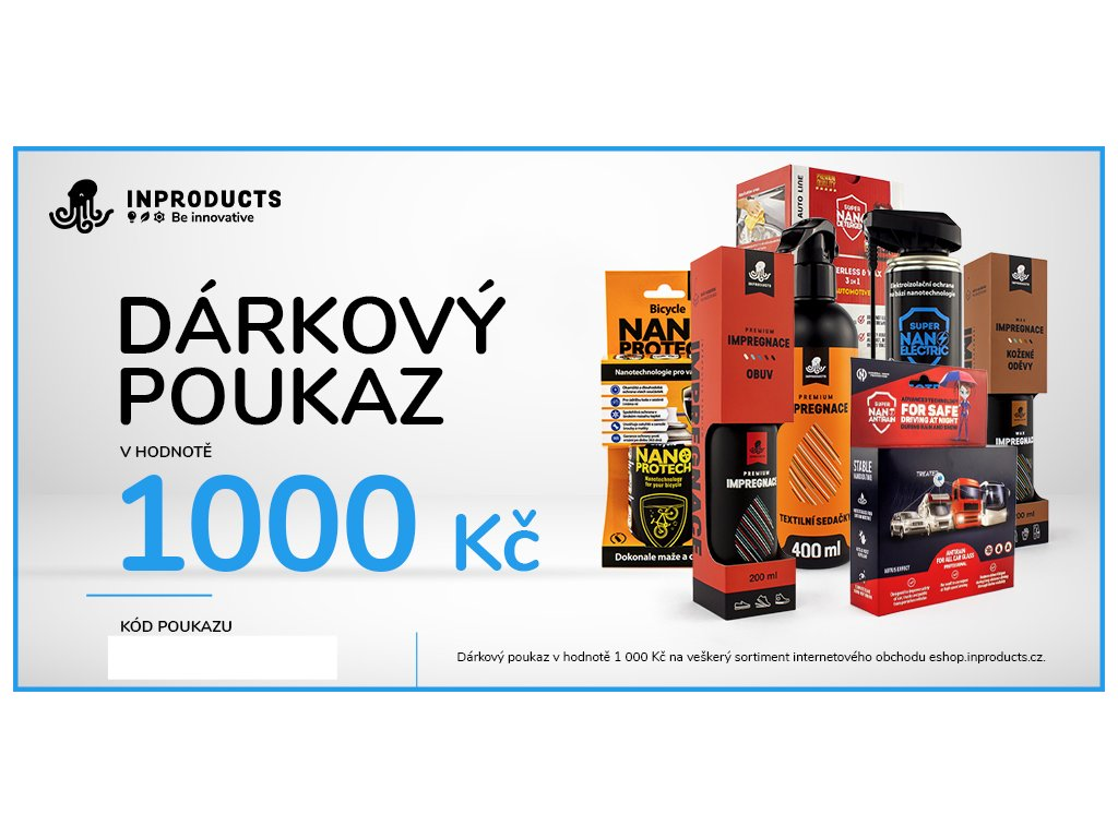 eshop darkovy poukaz 1000