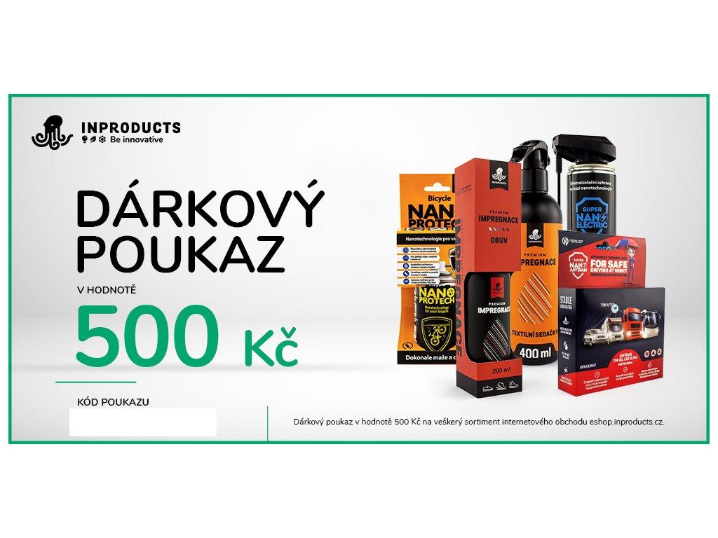 eshop darkovy poukaz 500