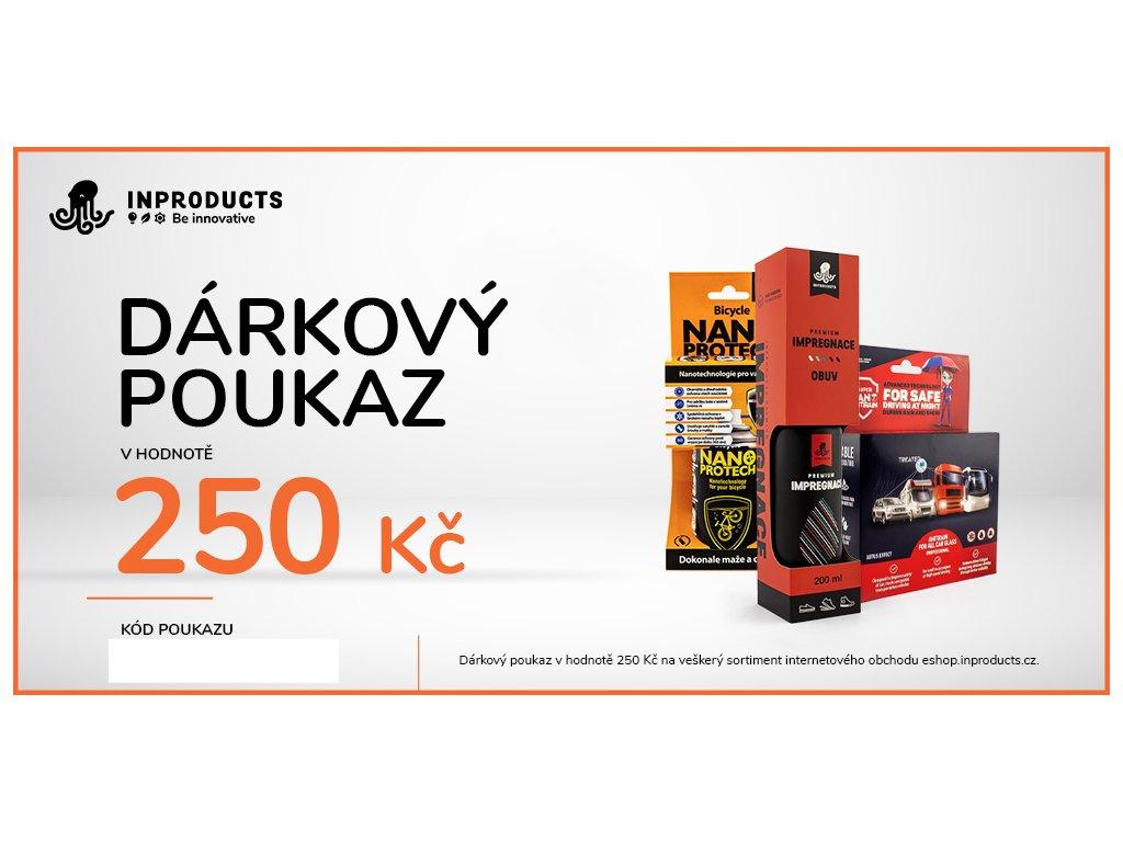 eshop darkovy poukaz 250