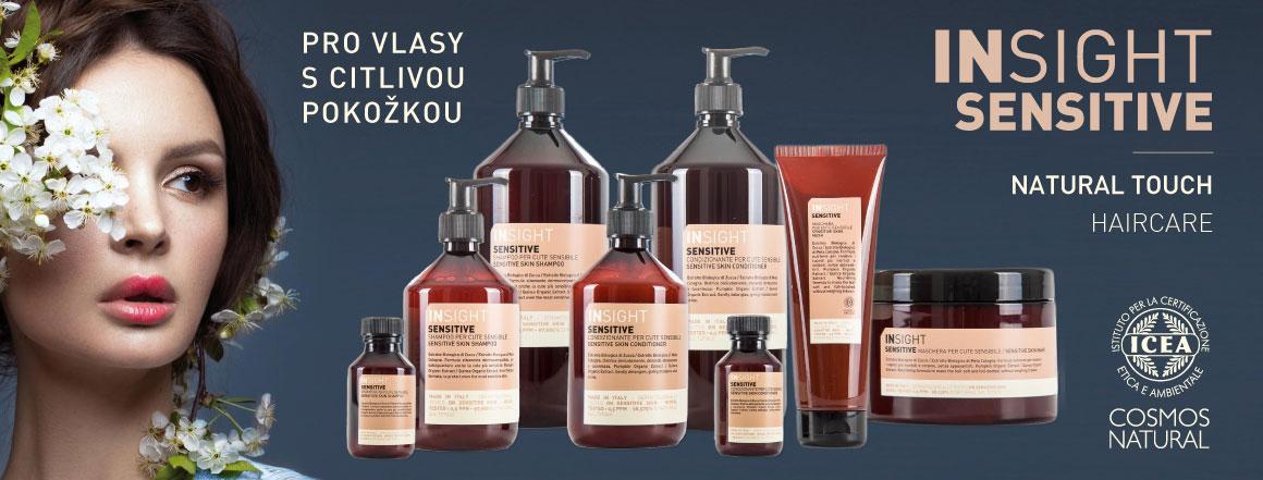 INSIGHT SENSITIVE - extrémně šetrná řada produktů pro vlasy s citlivou pokožkou