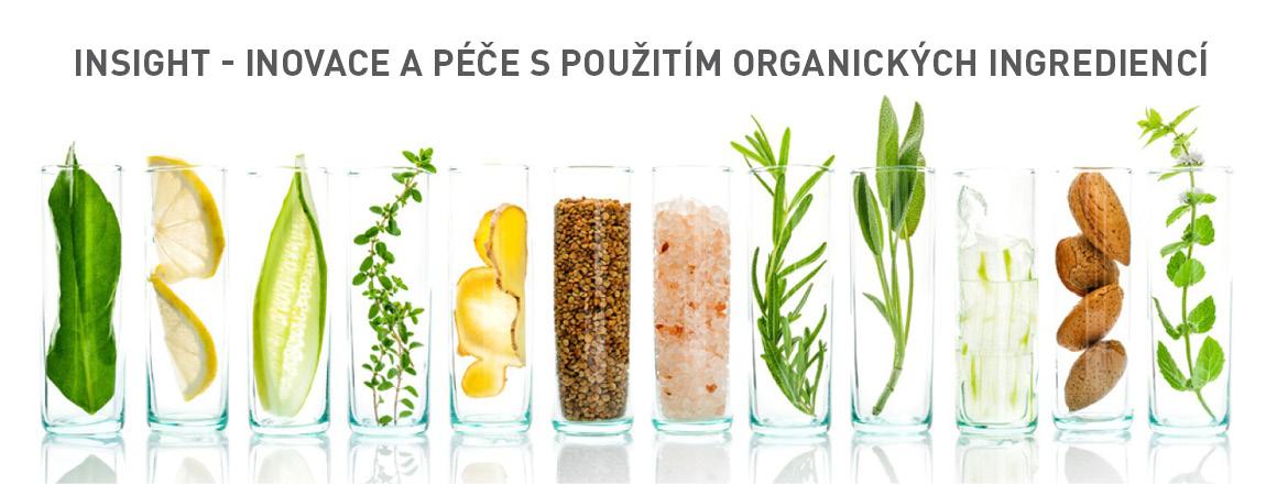 INSIGHT - inovace a péče s použitím organických ingrediencí