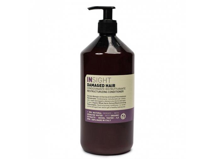 INSIGHT Damaged Restructurizing Conditioner 900 ml - kondicionér pro poškozené vlasy