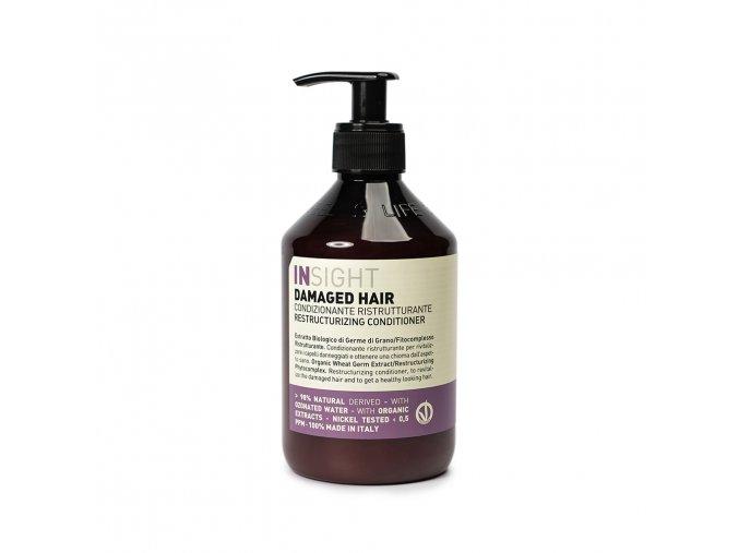 INSIGHT Damaged Restructurizing Conditioner 400 ml - kondicionér pro poškozené vlasy