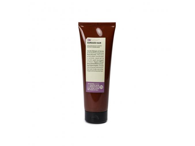 INSIGHT Damaged Restructurizing Mask 250 ml - maska pro poškozené vlasy