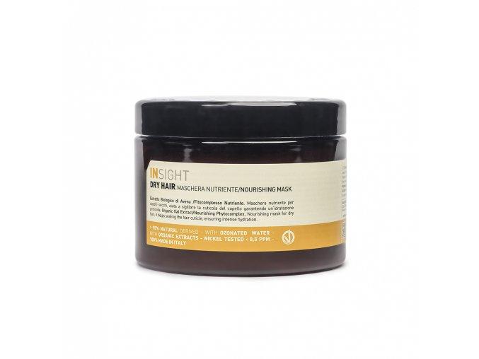 INSIGHT Dry Hair Nourishing Mask 500 ml - maska pro suché vlasy