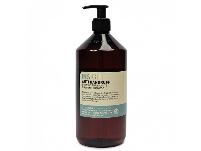 INSIGHT Anti-Dandruff Purifying shampoo 900 ml - šampon proti lupům