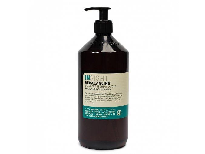 INSIGHT Rebalancing Sebum Control Shampoo 900 ml - šampon pro mastné vlasy