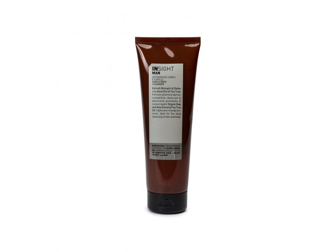 INSIGHT Man Hair And Body Cleanser 250 ml - sprchový gel na tělo i vlasy