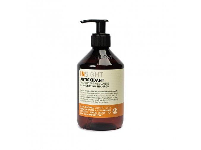 INSIGHT Antioxidant Rejuvenating Shampoo 400 ml - šampon pro oživení vlasů