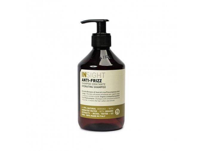 INSIGHT Anti-Frizz Hydrating Shampoo 400 ml - šampon pro vlnité vlasy