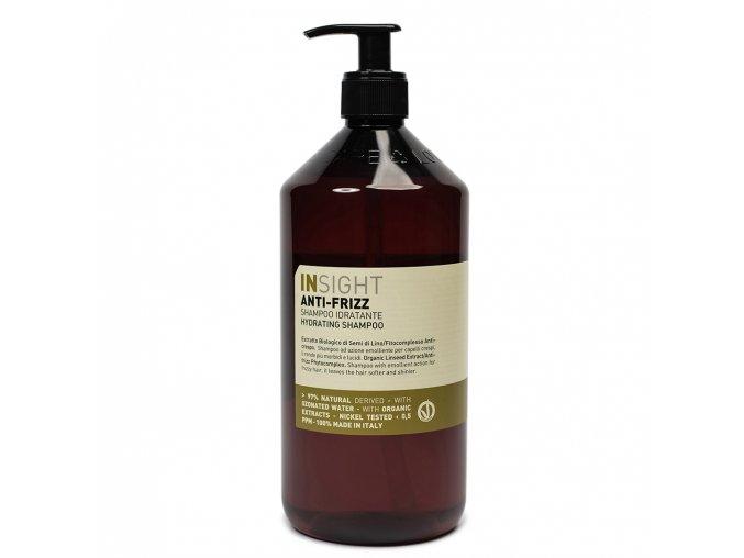 INSIGHT Anti-Frizz Hydrating Shampoo 900 ml - šampon pro vlnité vlasy