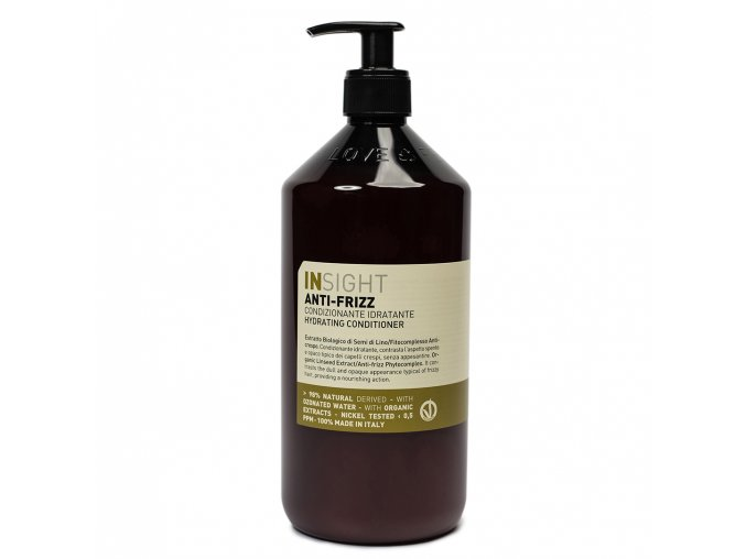 INSIGHT Anti-Frizz Hydrating Conditioner 900 ml - kondicionér pro vlnité vlasy