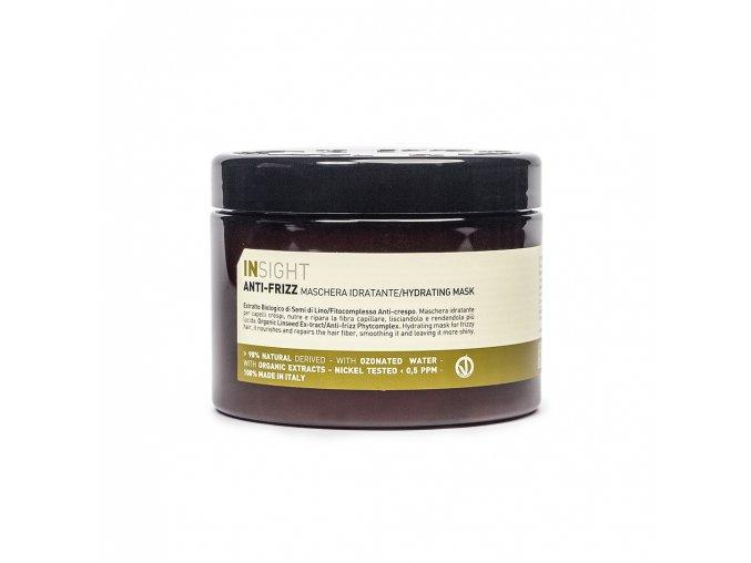 INSIGHT Anti-Frizz Hydrating Mask 500 ml - maska pro vlnité vlasy