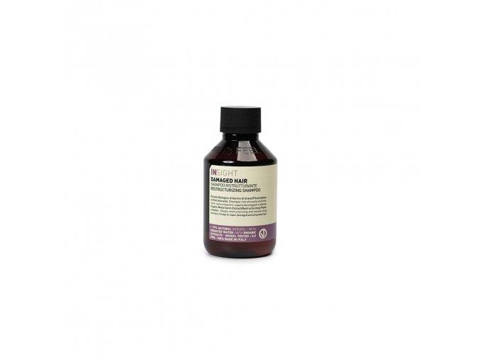 INSIGHT Damaged Restructurizing Shampoo 100 ml - šampon pro poškozené vlasy