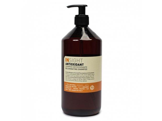 INSIGHT Antioxidant Rejuvenating Shampoo 900 ml - šampon pro oživení vlasů