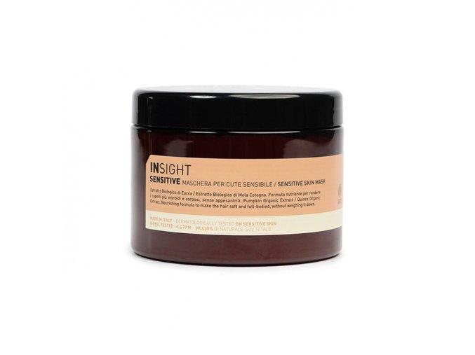 INSIGHT Sensitive Skin Mask 500 ml - maska na vlasy s citlivou pokožkou