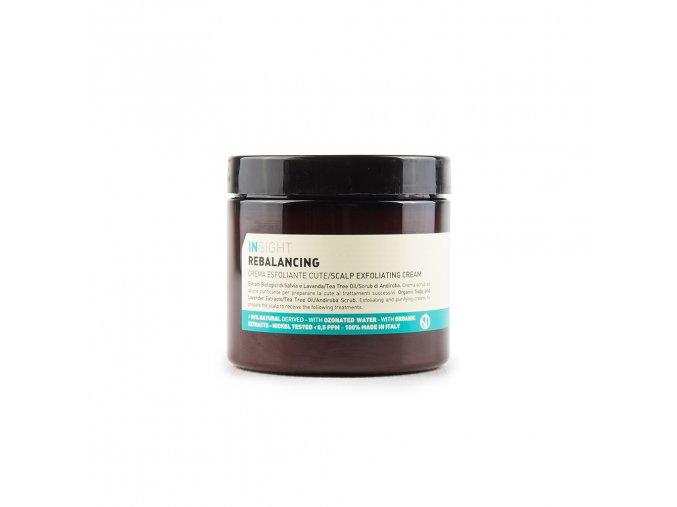 INSIGHT Rebalancing Scalp Exfoliating Cream 180 ml - exfoliační krém na pokožku hlavy