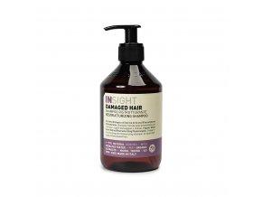 INSIGHT Damaged Restructurizing Shampoo 400 ml - šampon pro poškozené vlasy
