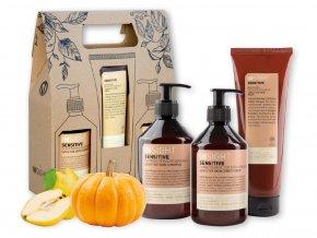Balíček INSIGHT SENSITIVE SKIN šampon 400 ml + kondicionér 400 ml + maska 250 ml dárková sada